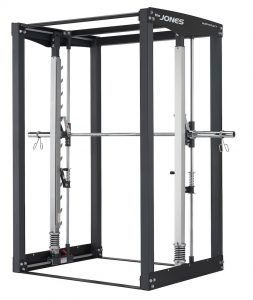 front view of a large resistance training machine