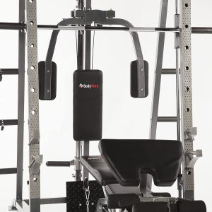 pec deck and preacher curl stations