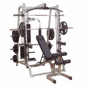 image of a resistance training machine with extensive workout options
