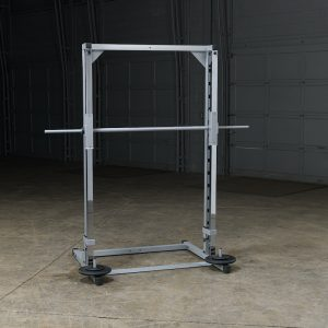 weight training system with weight plates on the storage pegs