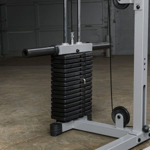 a selectorized weight stack