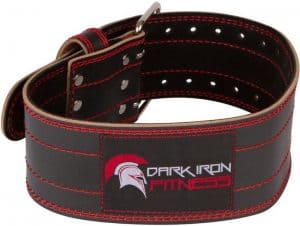 dark iron fitness weightlifting belt
