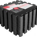 a pile of foam interlocking gym mats