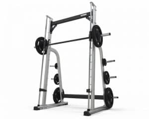 exigo smith machine with weights on the bar