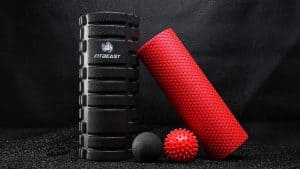 fit beast foam roller set
