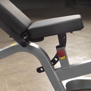 the seat of the adjustable bench