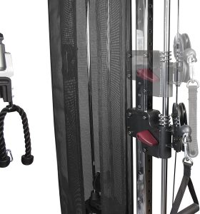 cable pulley system including handle attachments