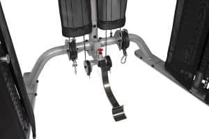lower cable pulleys and attachment points