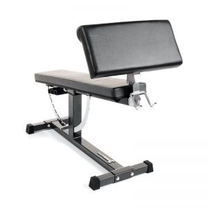 preacher curl pad with black upholestry