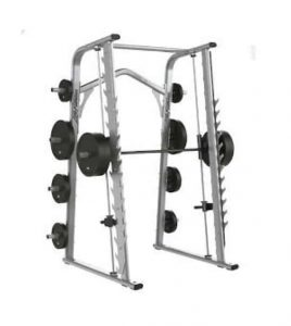 large workout device with weights