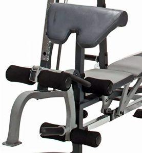 preacher bench with leg developer