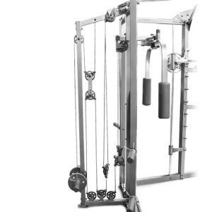 side view of the workout system
