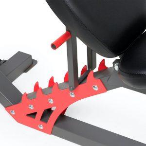 backrest adjustments for the bench