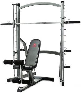 compact weight training system