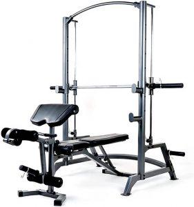 compact resistance training machine