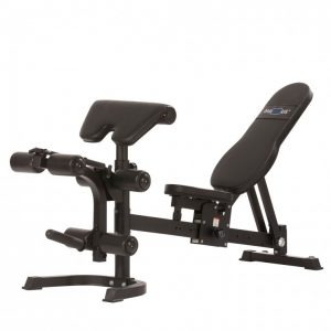 weight bench with preacher pad