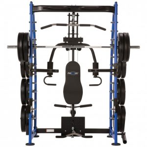 resistance training device with weights