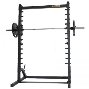 workout machine with weights on each side