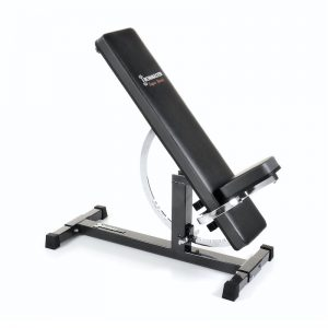 weight bench with padded upholestry