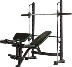 compact workout machine for building muscle