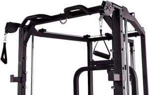 pull up bar with cable attachments