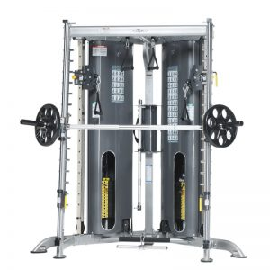 strength training cable machine with weights