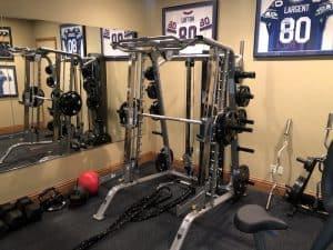 interior of rod smith's gym