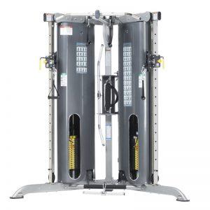 compact strength training machine