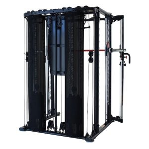 back view of a heavy duty exercise machine