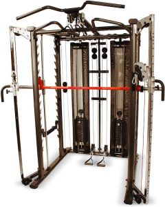 large weight training machine with cables