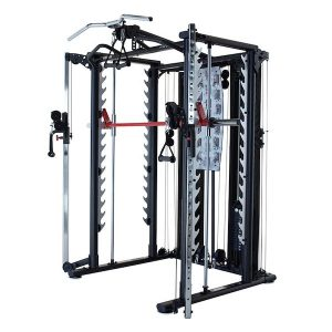 side view of a functional trainer