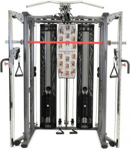 Large piece of gym equpment with cables