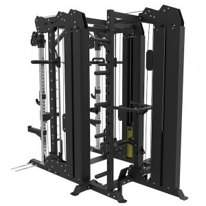 rear view of the Primal Strength Commercial Monster Rack System