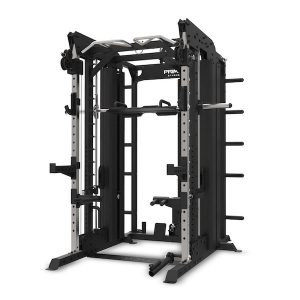Front view of the Primal Strength Commercial Monster Rack System