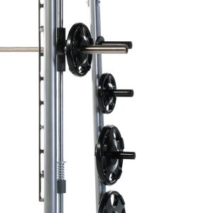 close up of the frame of the TuffStuff Proformance Plus Smith Machine PPL-900