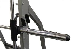 barbell with ample space for weight discs